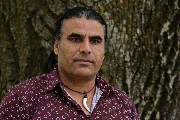 Abdul Aziz, survivor of mosque shooting speaks to Associated Press during an interview in Christchurch,...