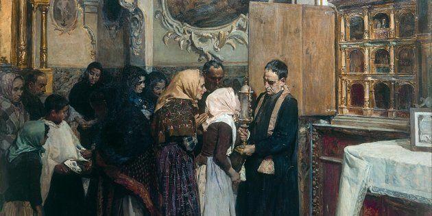 'El beso de la reliquia', de Joaquín