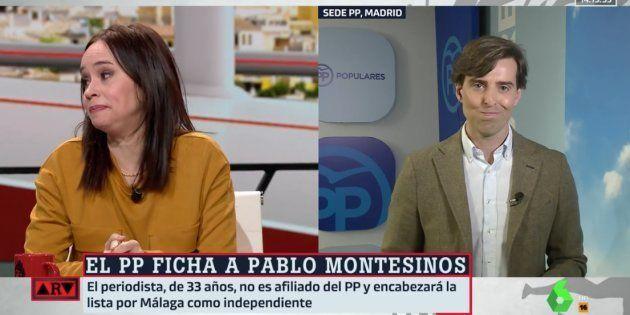 Yolanda González y Pablo Montesinos en 'Al Rojo