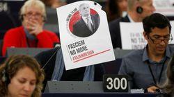 Tajani, presidente de la Eurocámara, dice que Mussolini