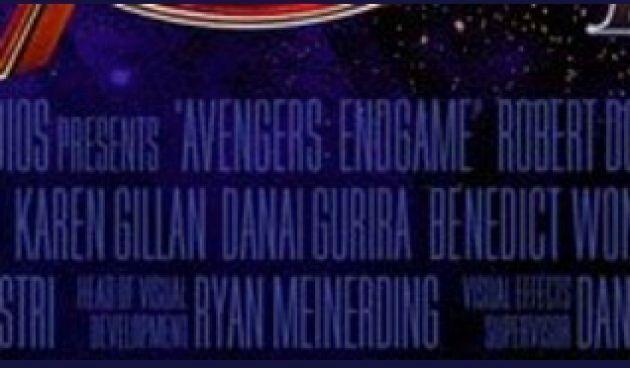 Danai Gurira, en el cartel inicial de 'Avengers: