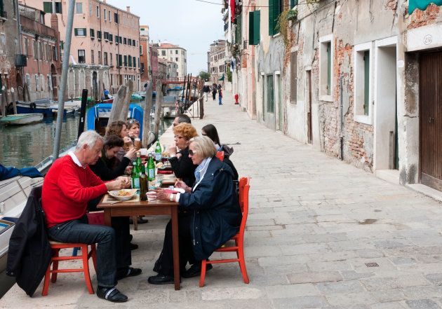 Barrio de Cannaregio, en Venecia