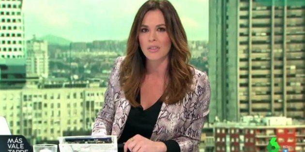 Mamen Mendizábal, presentadora de 'Más Vale Tarde' de