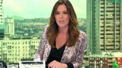 Mamen Mendizábal (La Sexta) sentencia a Rafael Hernando tras su polémico tuit: