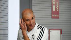 Zidane sorprende con este inesperado cambio en su primer partido con el