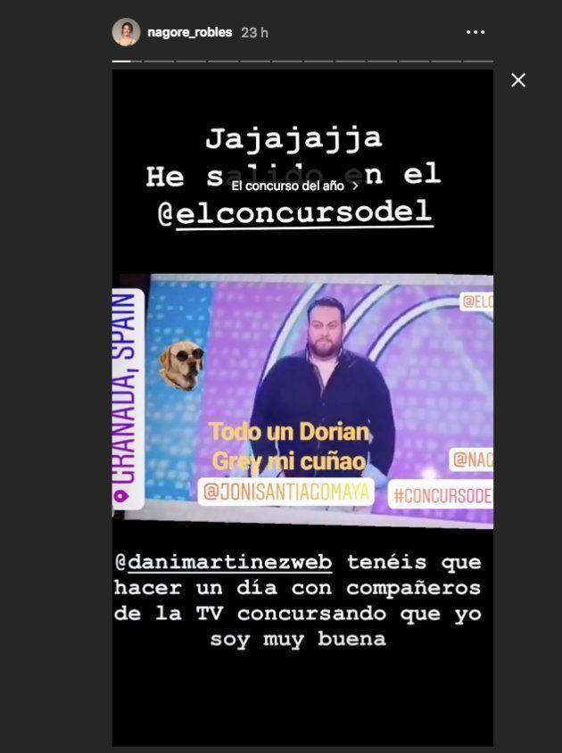 El chasco de Nagore Robles con 'El concurso del año', el programa de Dani Martínez en Cuatro: