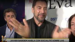 El corte de Javier Bardem a una reportera cuando le pregunta por los problemas económicos de su