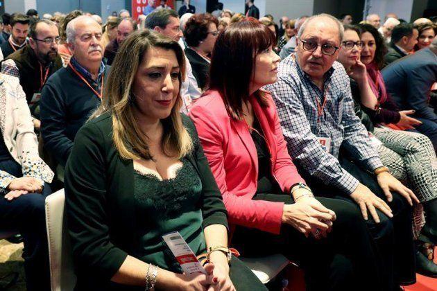 La expresidenta de la Junta de Andalucía Susana