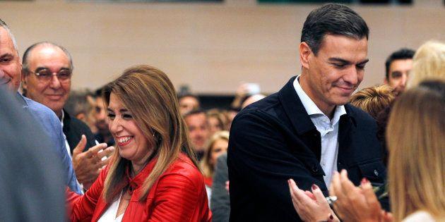 Susana Díaz y Pedro