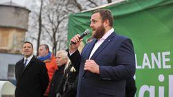 元大関・把瑠都、エストニア国会議員への選出を報告「これからもガンバルトー」