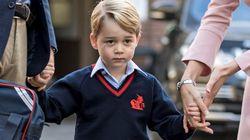 El príncipe Jorge de Cambridge empieza el