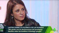 La comentada respuesta de Adriana Lastra en 'LaSexta Noche' al ser preguntada por su