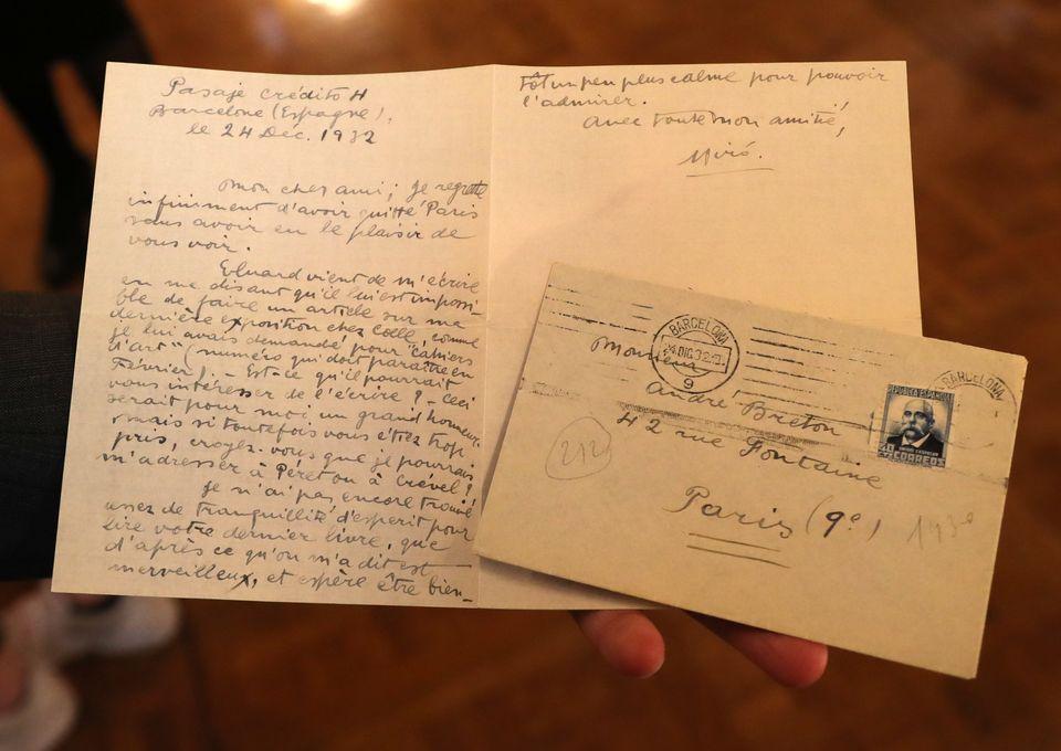 Επιστολή του Μιρό στον...