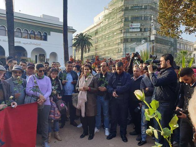 Rassemblement à Casablanca en hommage aux victimes de l'attaque de