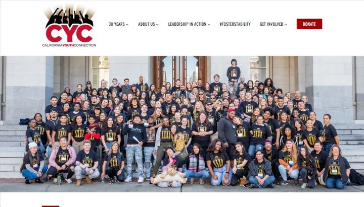 CYCのホームページ