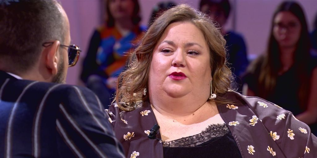 Itziar Castro se sincera sobre su sobrepeso con Risto Mejide: