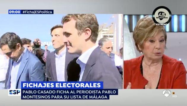 Celia Villalobos en 'Espejo