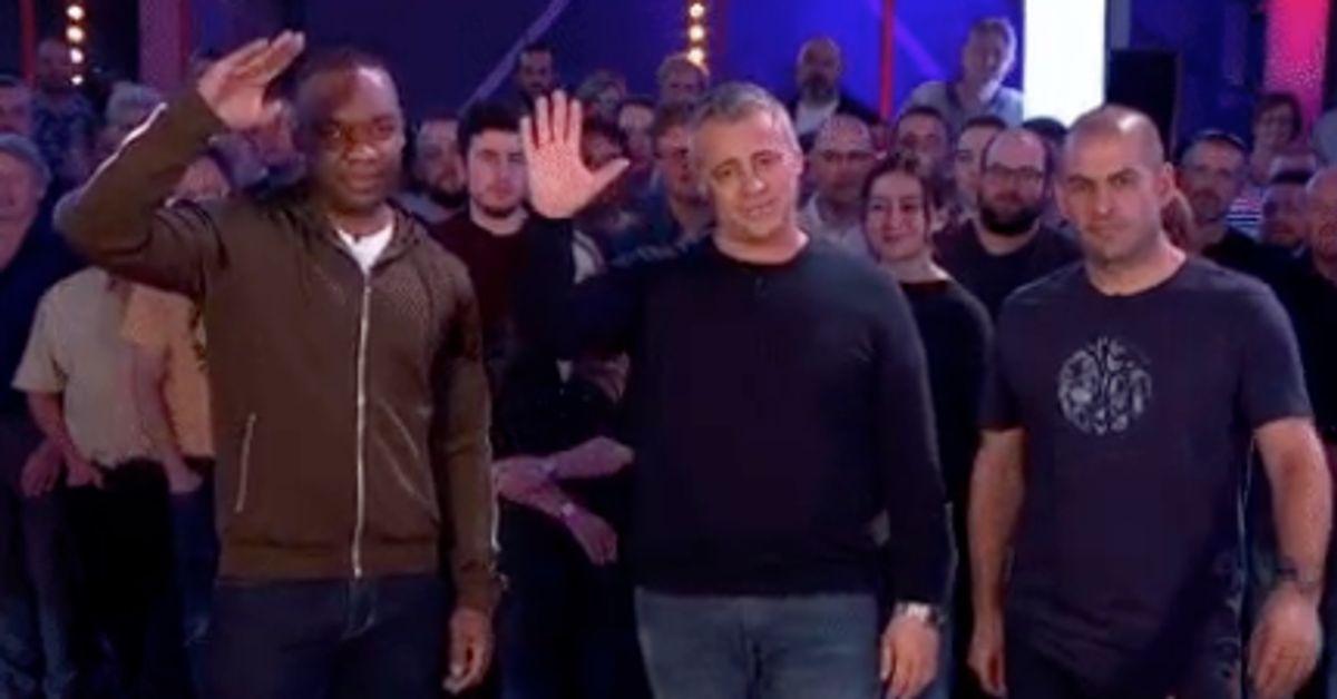 Top Gear's Matt LeBlanc Makes Low-Key Exit As He Hosts His