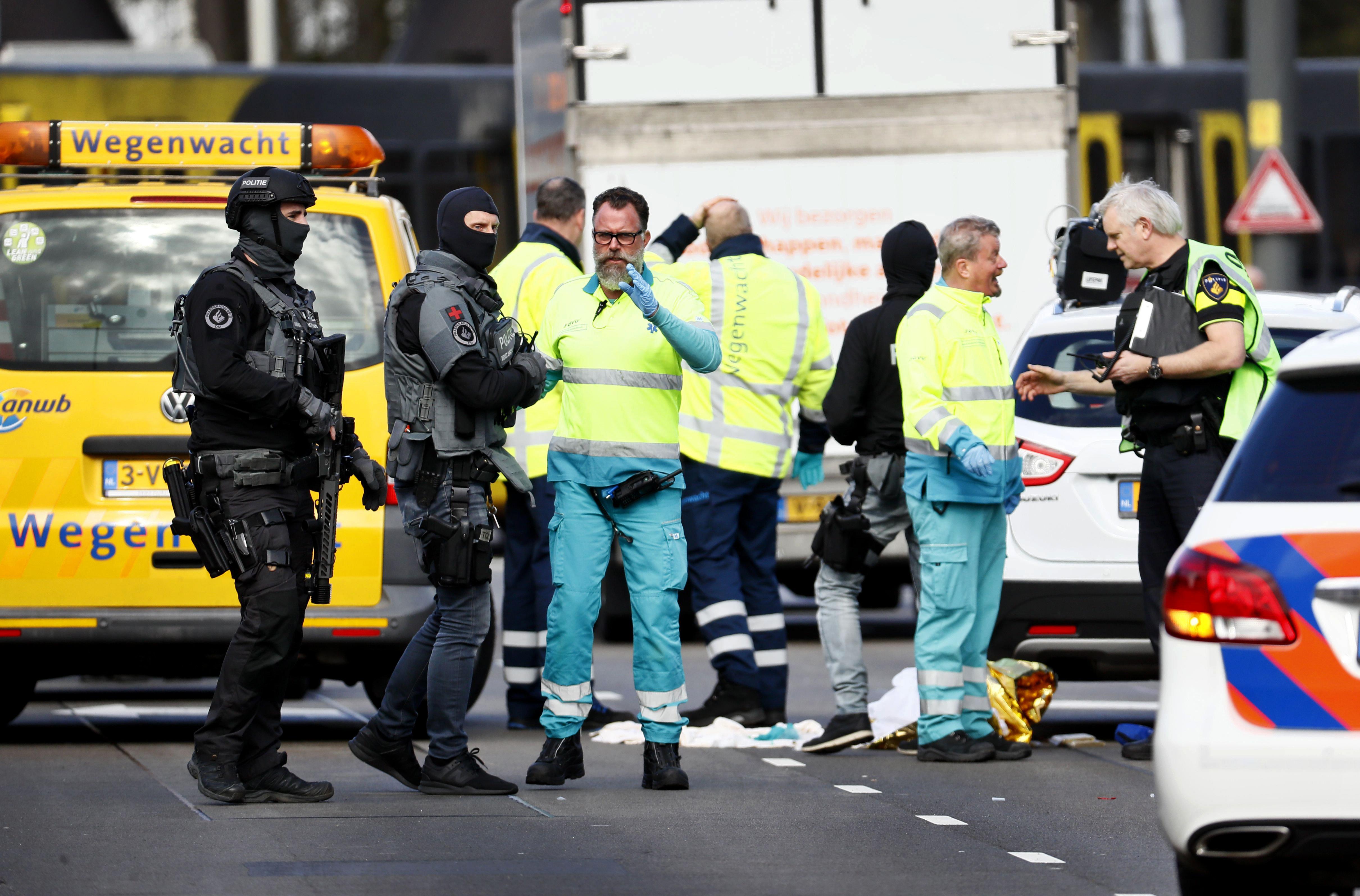 Attentat in Utrecht: Polizei sucht nach 37-Jährigem