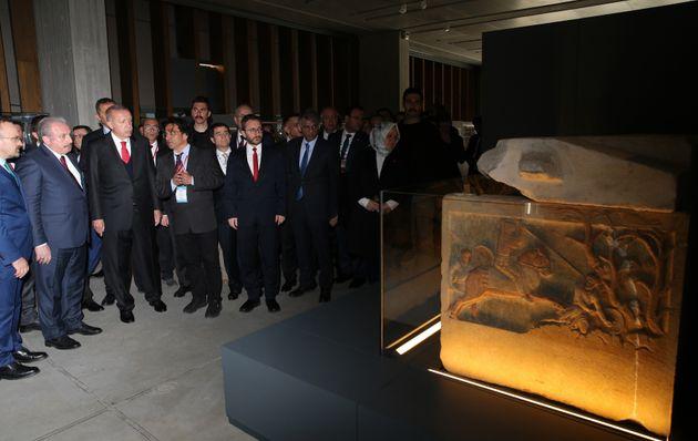 Ο Ερντογάν «έκοψε κορδέλα» στο Μουσείο της