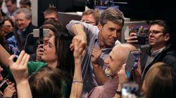 Ο Μπέτο Ο΄Ρούρκ μάζεψε 6,1 εκατ. δολάρια το πρώτο 24ωρο της υποψηφιότητάς