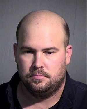 Noel Thomas Becht was arrested for threatening and intimidation at a mosque in Phoenix on March 16.