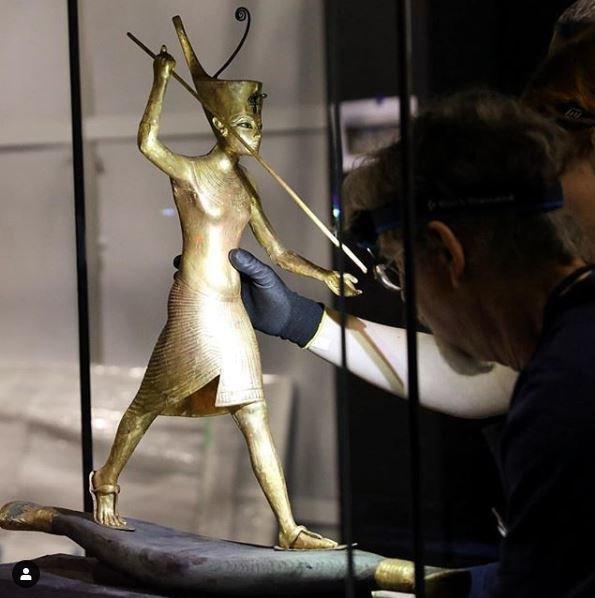 «Τουταγχαμών, ο θησαυρός του Φαραώ» στο Παρίσι και προπώληση χιλιάδες