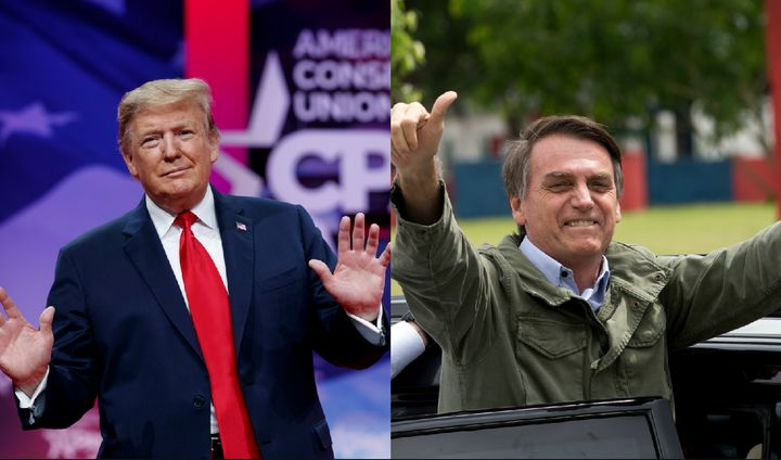 "President Donald Trump and Bolsonaro, who is known as ""Brazil's Trump,"" will meet Tuesday at the White House."