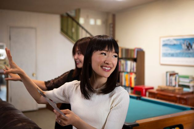 """Tidying Up With Marie Kondo"" on"