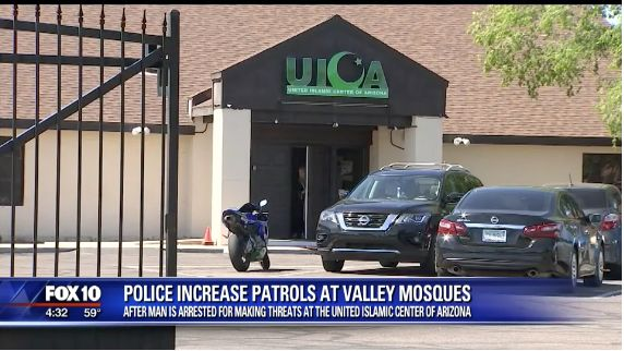 Man Accused Of Threatening Phoenix Mosque The Day After New Zealand Shootings