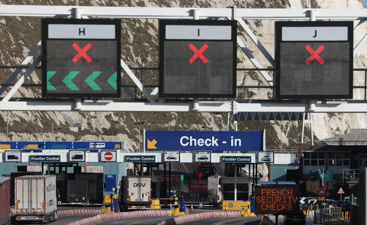 A no-deal Brexit could cause delays at ports