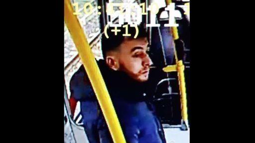 El sospechoso, en una imagen difundida por la Policía