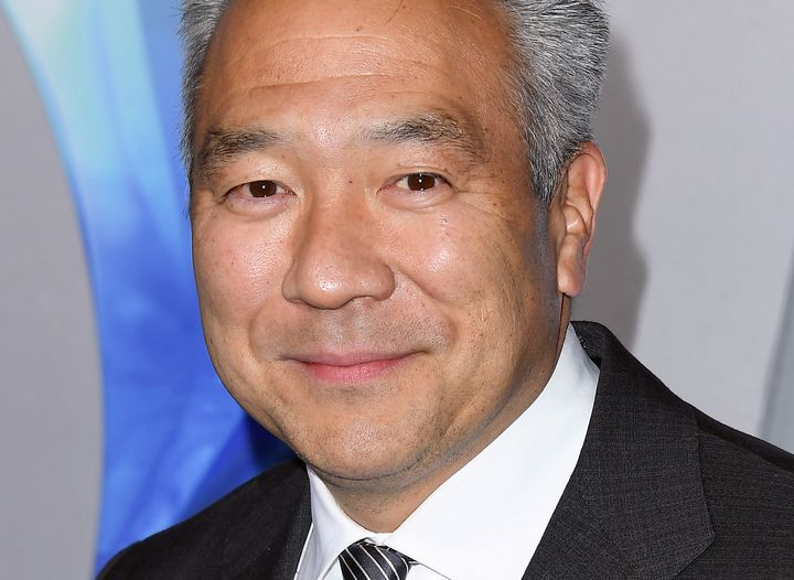 """Kevin Tsujihara attends the 2018 premiere of """"Aquaman"""" in Los Angeles."""