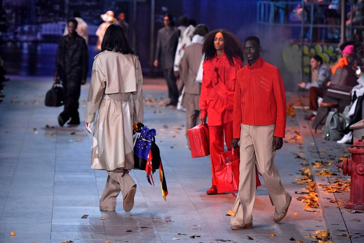 The Louis Vuitton menswear fall/winter 2019-2020 fashion show on Jan. 17, 2019, in Paris.