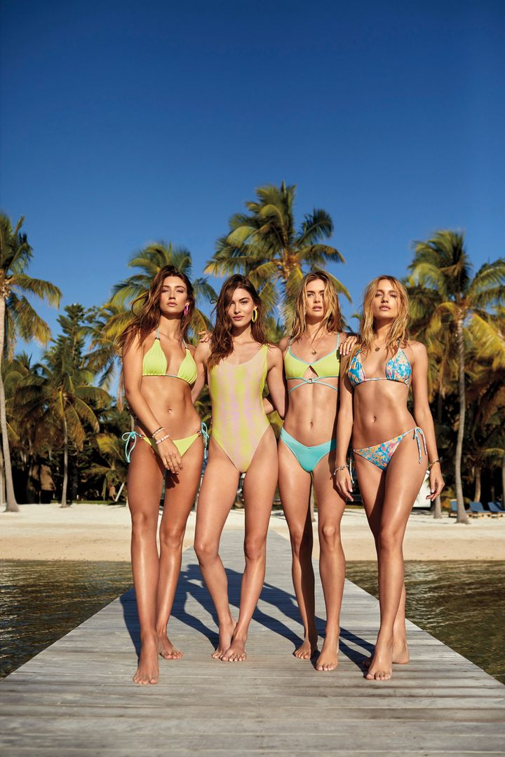 Victoria's Secret is bringing back its swimwear line, but the largest size currently available (and not in every style) is an XL or 38DD.