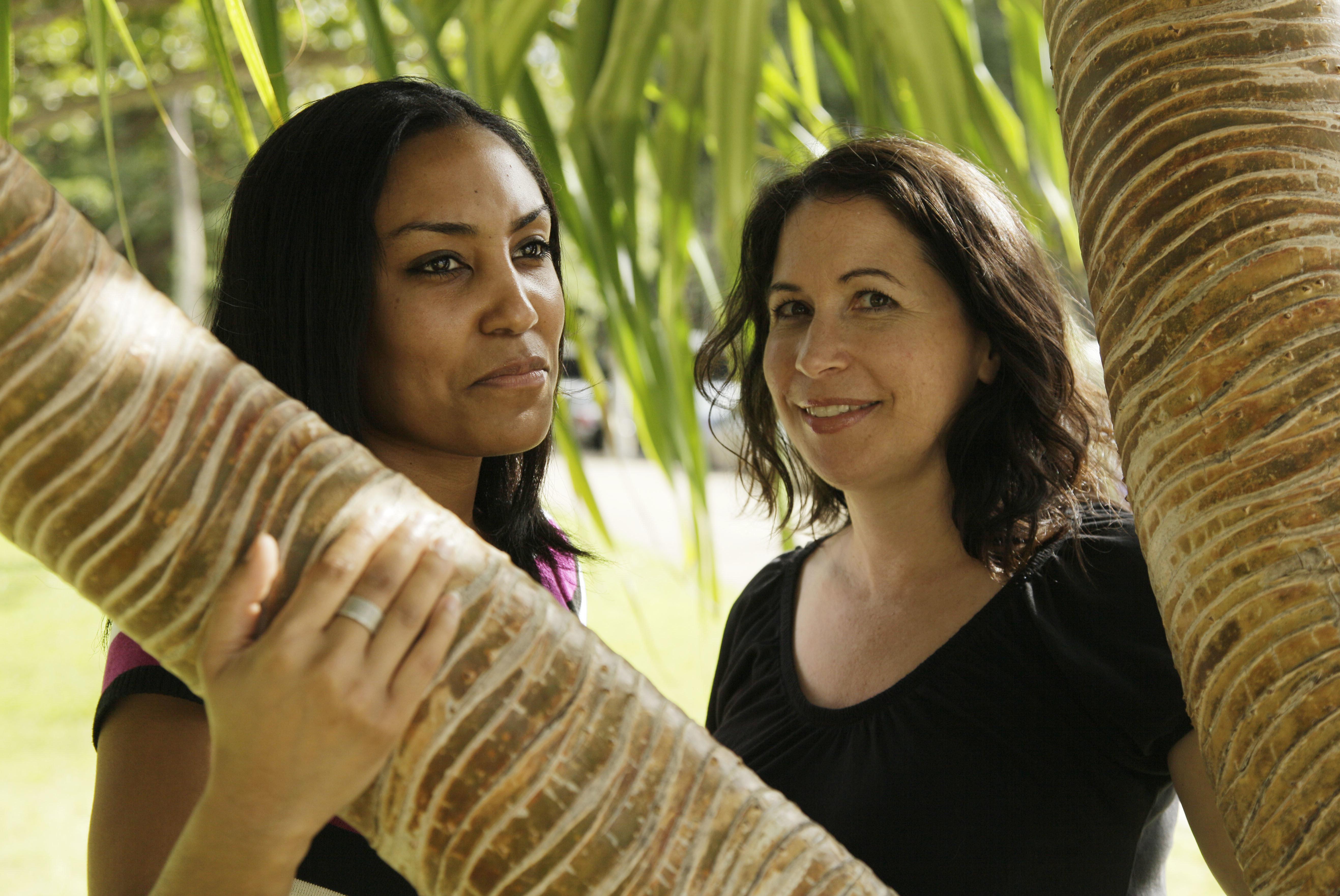 Taeko Bufford, left, and Diane Cervelli were turned away byHonolulu's Aloha Bed & Breakfast in 2007.