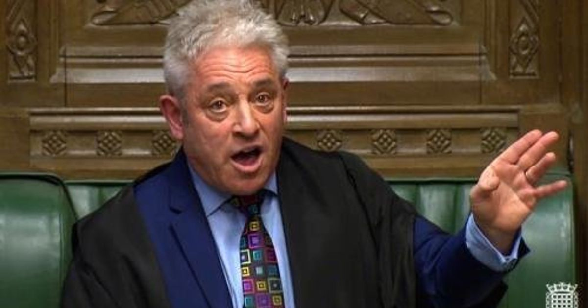'Christ, He's Done It': How John Bercow Lobbed A Hand Grenade Into Theresa May's Brexit Plans