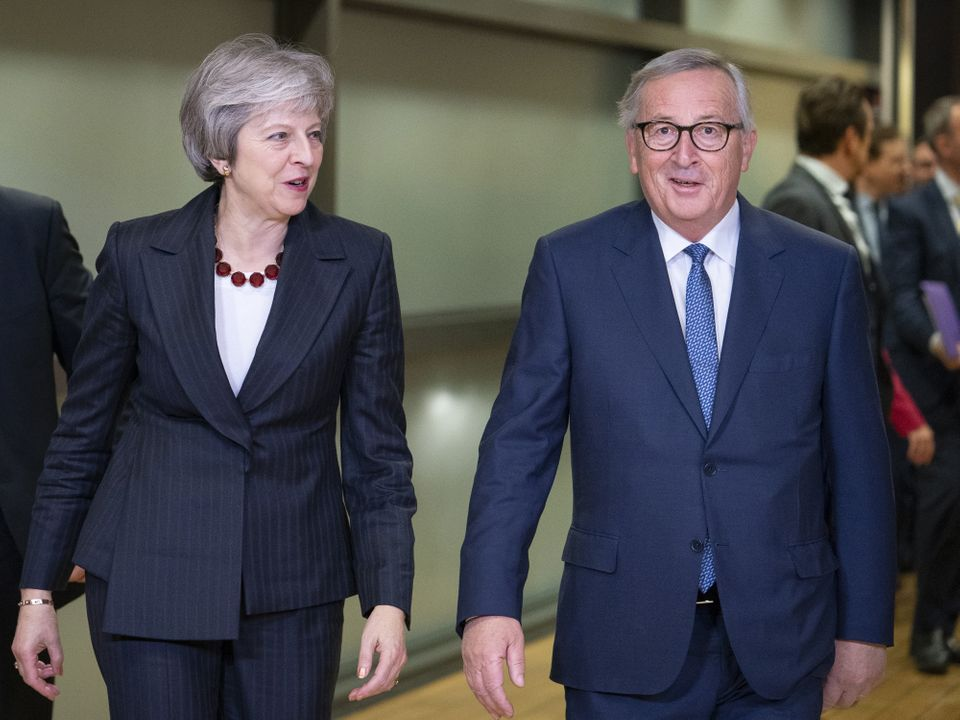 Theresa May will have to go to the EU summit without a new endorsement of her