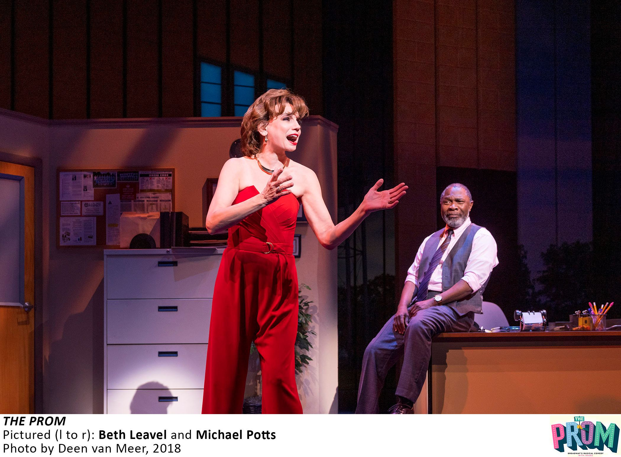 """""""If we can help someone feel loved, relevant and accepted, I'm happy to do that,"""" Beth Leavel (with co-star"""