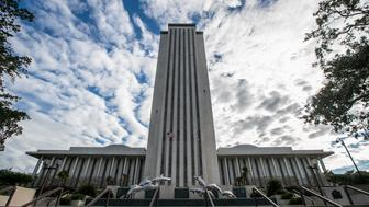 TALLAHASSEE, FL - NOVEMBER 10: A view of the Florida State Capitol building on November 10, 2018 in Tallahassee, Florida.  Three close midtern election races for governor, senator, and agriculture commissioner are expected to be recounted in Florida. (Photo by Mark Wallheiser/Getty Images)