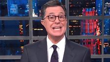 Colbert Finds A Whole New Way