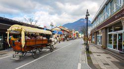 크게 비판 받고 있는 일본 유후인 온천장 주인의 혼탕 광고