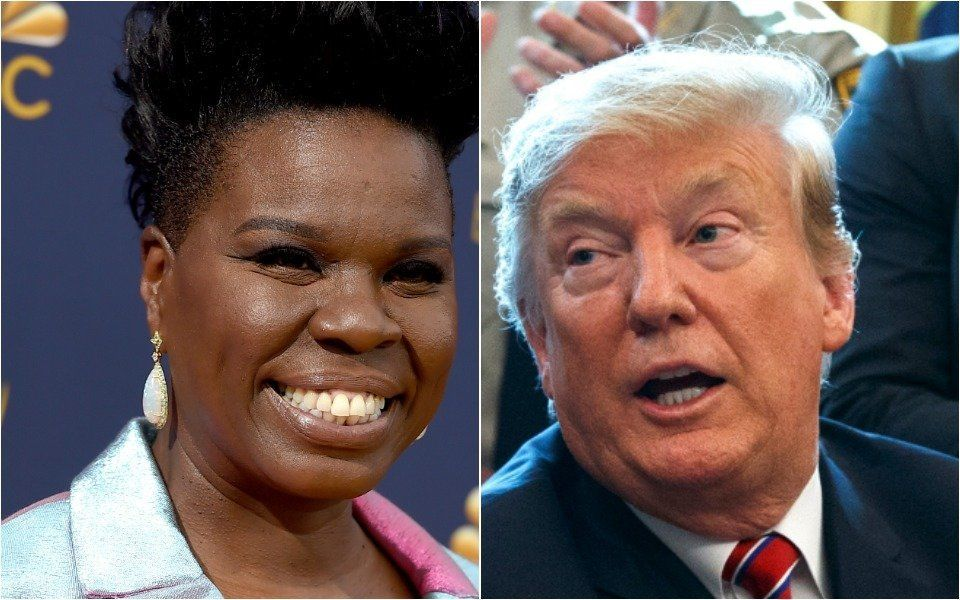Leslie Jones, Donald Trump