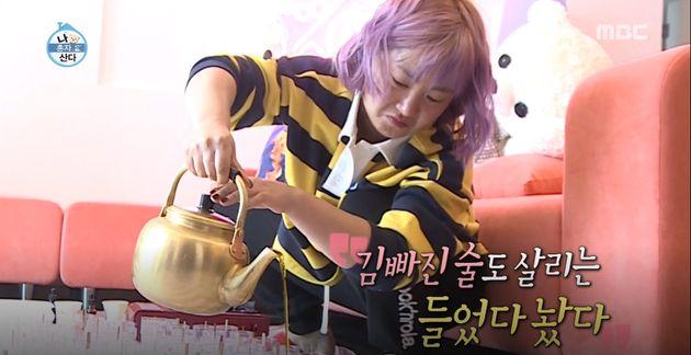 박나래가 수제 향초 팬들에게 선물했다가 환경부 행정지도를