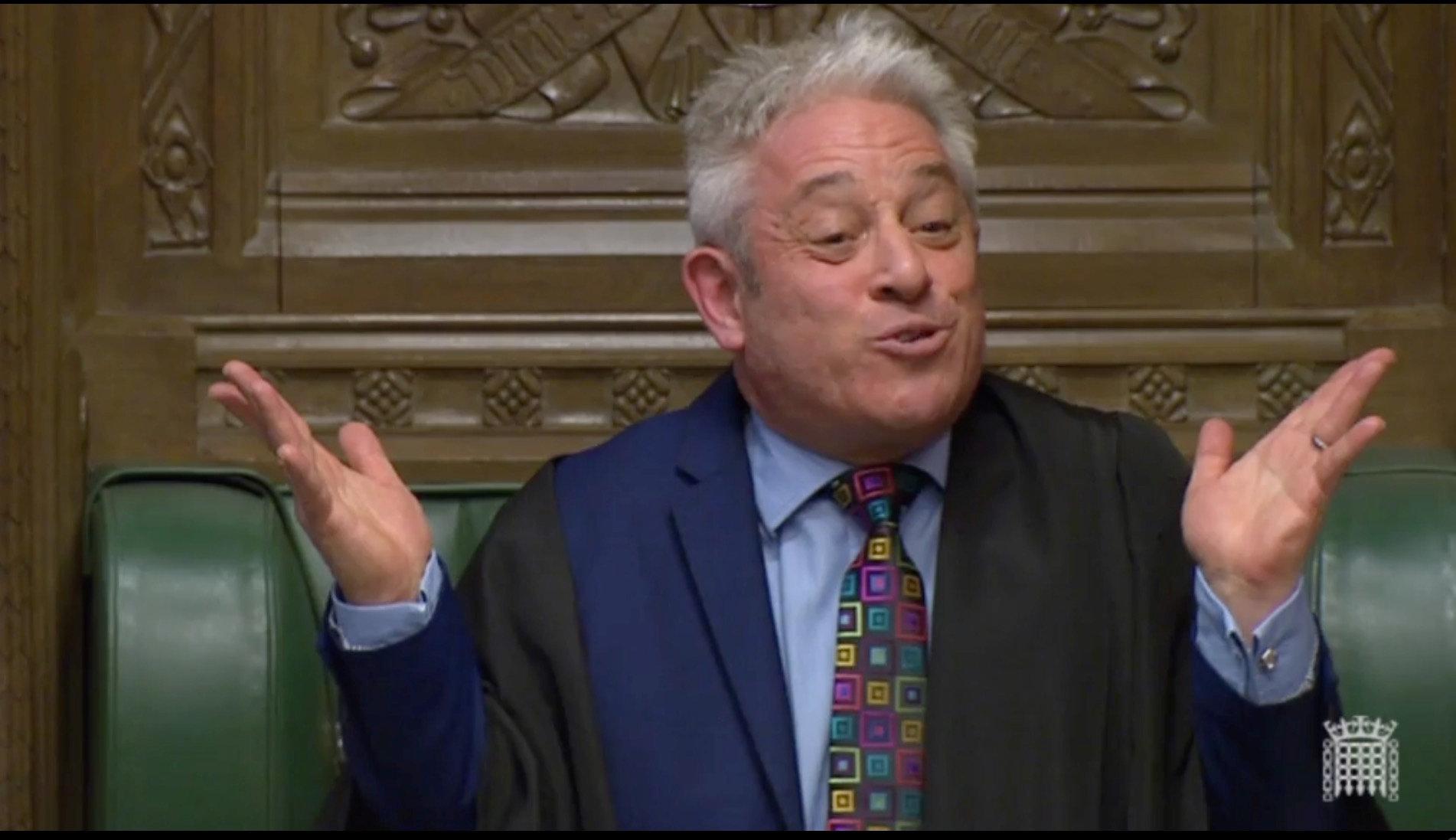 영국 하원의장이 총리의 '브렉시트 꿈'을 산산조각