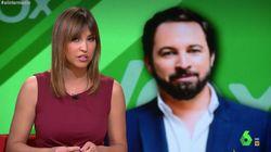 Estupefacción de Sandra Sabatés por la 'machistada' de Vox sobre las