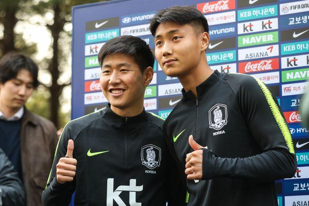 '슛돌이' 이강인이 생애 처음으로 축구 A대표팀 훈련에