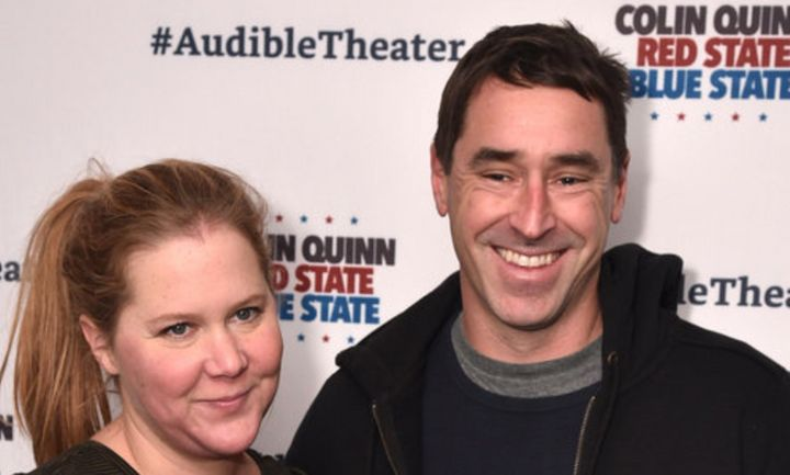 "Amy Schumer said husband Chris Fischer ""keeps it so real."""