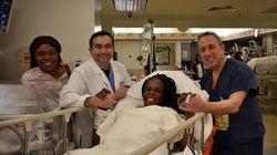 テキサス州の女性、9分間で6人の赤ちゃんを出産する