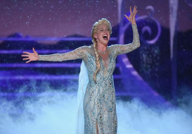 Casie Levy plays Elsa in the Broadway